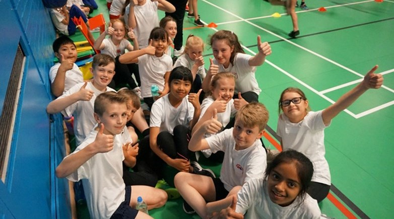 Sport competition success!