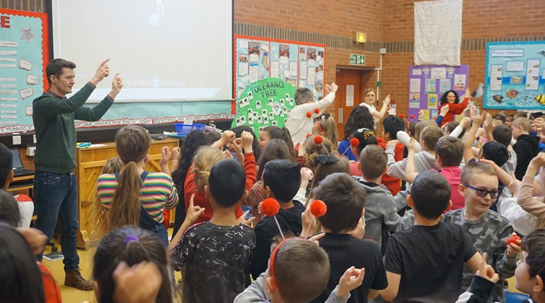 Diamond Hall red nose day